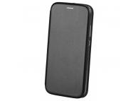 Husa Piele OEM Elegance pentru Samsung Galaxy A40 A405, Neagra, Bulk