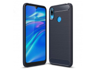 Husa TPU OEM Carbon pentru Huawei Y7 Prime (2019), Bleumarin, Bulk