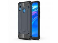 Husa Plastic - TPU OEM Tough Armor pentru Huawei Y7 Prime (2019), Bleumarin, Bulk