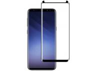 Folie Protectie Ecran Mocolo pentru Samsung Galaxy S9 G960, Sticla securizata, Full Face, 3D, Neagra, Blister