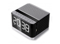 Difuzor Bluetooth OEM  P9 cu Radio FM si display, Negru Blister Original
