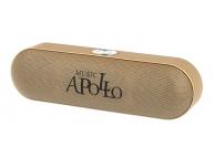 Boxa Portabila Bluetooth APOLLO S207, 2 X 3W, Radio FM, Aurie, Blister