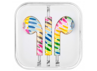 Handsfree Casti EarBuds OEM Iphone iPod iPad, Strips, Cu microfon, 3.5 mm, Multicolor, Bulk