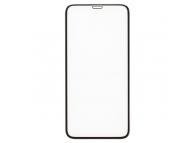 Folie Protectie Ecran Type Gorilla Glass pentru Apple iPhone X / Apple iPhone XS, Plastic, Full Face, Full Glue, Anti-Explode Nano, Neagra, Blister