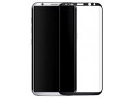 Folie Protectie Ecran Type Gorilla Glass pentru Samsung Galaxy S8 G950, Plastic, Full Face, Full Glue, Anti-Explode Nano, Neagra, Blister