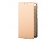 Husa Piele OEM Smart Magnet pentru LG K10 K420, Aurie, Bulk
