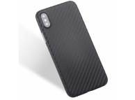 Husa Plastic OEM Carbon pentru Samsung Galaxy A40 A405, Neagra, Bulk