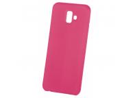 Husa TPU OEM Pure Silicone pentru Samsung Galaxy A70 A705, Roz, Blister