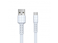 Cablu Date si Incarcare USB la USB Type-C Remax RC-116a, 1 m, Alb, Blister
