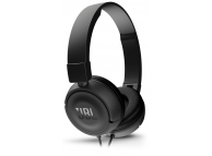 Casti On-Ear JBL T450, Cu microfon, 3.5 mm, Negru, Blister