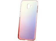 Husa Plastic OEM Ombre pentru Samsung J6 Plus (2018) J610, Roz, Bulk