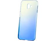Husa Plastic OEM Ombre pentru Samsung J6 Plus (2018) J610, Albastra, Bulk