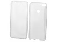 Husa Plastic - TPU OEM Full Cover pentru Samsung J4 Plus (2018) J415, Transparenta, Bulk