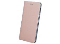 Husa Piele OEM Smart Venus pentru Samsung J4 Plus (2018) J415, Roz Aurie, Bulk