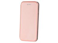Husa Piele OEM Smart Verona pentru Apple iPhone 7 / Apple iPhone 8, Roz Aurie, Bulk