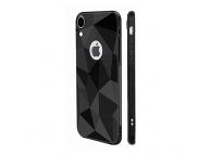 Husa TPU OEM Diamond Matt pentru Samsung Galaxy A50 A505, Neagra, Bulk