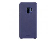 Husa Plastic Baseus Stylish Alcantara pentru Samsung Galaxy S9 G960, Albastra, Blister