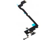 Banda Cu Conector Incarcare / Date - Microfon Negru Apple iPhone XS Max