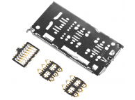 Modul Cititor SIM (SIM 1, SIM 2) - Modul Cititor Card Samsung Galaxy A50 A505 Dual SIM