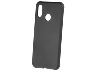 Husa TPU OEM Antisoc Rubber pentru Apple iPhone 7 Plus / Apple iPhone 8 Plus, Neagra, Bulk