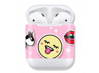 Stickere OEM pentru Apple Airpods 1 / 2 Smiley Face Multicolor