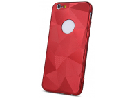 Husa TPU OEM Diamond Shine pentru Apple iPhone 8 Plus, Rosie, Bulk