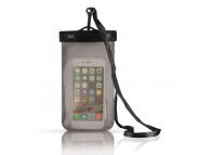 Husa OEM Waterproof pentru Telefon 6 inci,  Dimensiuni interioare 155 x 95 mm, Neagra, Bulk