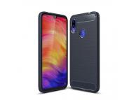 Husa TPU OEM Carbon pentru Xiaomi Redmi 7, Bleumarin, Bulk