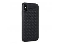 Husa TPU OEM Braided pentru Samsung Galaxy S8 G950, Neagra, Bulk