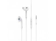 Handsfree Casti In-Ear Usams US-SJ213 EP-22, Cu microfon, 3.5 mm, Alb, Blister HSEP2201