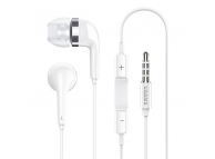 Handsfree Casti In-Ear Usams EP-23, Cu microfon, 3.5 mm, Alb, Blister HSEP2301
