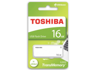 Memorie Externa Toshiba U203, USB 2.0, 16Gb, Alba, Blister THN-U203W0160E4