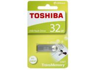 Memorie Externa Toshiba U401, USB 2.0, 32Gb, Argintie, Blister THN-U401S0320E4