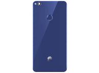 Capac Baterie Albastru cu geam camera blitz si senzor amprenta, Swap Huawei P8 Lite (2017)
