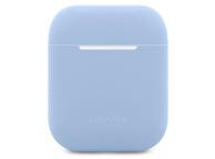 Husa Silicon Usams Ultra Thin pentru  Airpods 1 / 2 BH503 Bleu Blister