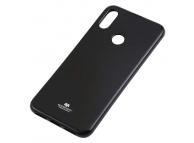 Husa TPU Goospery Mercury Jelly pentru Samsung Galaxy A30 A305, Neagra, Blister