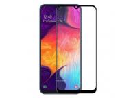 Folie Protectie Ecran Mocolo pentru Samsung Galaxy A20e, Sticla securizata, 5D, Neagra, Blister