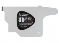 Clips metalic Qianli 3D, Pentru Indepartat LCD / Display / Capac Baterie, T 0.12mm, Flexibil