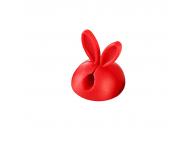 Suport birou cu adeziv pentru organizare cabluri OEM, Rabbit, Rosu