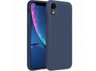 Husa TPU OEM Pure Silicone pentru Apple iPhone XR, Bleumarin, Blister