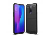 Husa TPU OEM Carbon pentru Xiaomi Mi 9T, Neagra, Bulk