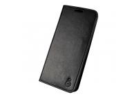 Husa Piele Musubo H3 Crazy Horse Samsung Galaxy S9+ G965, Neagra, Blister