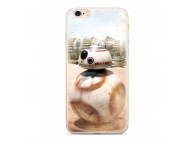 Husa TPU Disney Star Wars BB-8 001 pentru Apple iPhone X, Alba, Blister SWPC8BB045