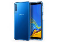 Husa TPU Spigen Liquid Crystal pentru Samsung Galaxy A7 (2018) A750, Transparenta, Blister 608CS25751