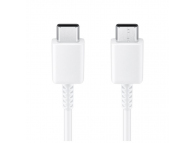 Cablu Date si Incarcare USB Type-C la USB Type-C Samsung, Alb, Blister EP-DA705BWEGWW