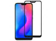 Folie Protectie Ecran OEM Xiaomi Redmi 6 Pro / Xiaomi Mi A2 Lite, Sticla securizata, Full Face, Full Glue, 9H, Neagra, Blister