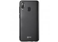 Husa Plastic Lenuo Leshield Slim pentru Samsung Galaxy A30 A305, Neagra, Blister