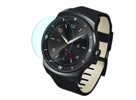 Folie Protectie Ecran OEM pentru LG G Watch R W110, Sticla securizata, 0.26mm, 2.5D, Bulk