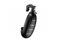 Set 2 buc x Gamepad / Suport mobil Baseus Grenade pentru telefoane max 6.5 inch, Trigger Metalic, Negru, Blister ACSLCJ-01