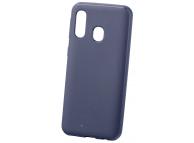 Husa TPU Goospery Mercury Style Lux pentru Samsung Galaxy A40 A405, Bleumarin, Blister
